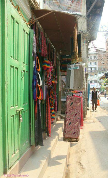 Kathmandu colour the traveloguer