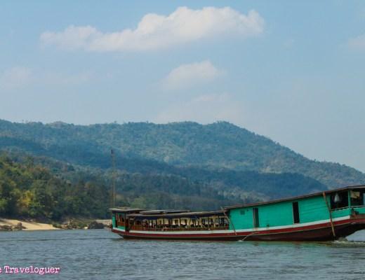slow baot along the Mekong from Chiang Mai to Luang Prabang