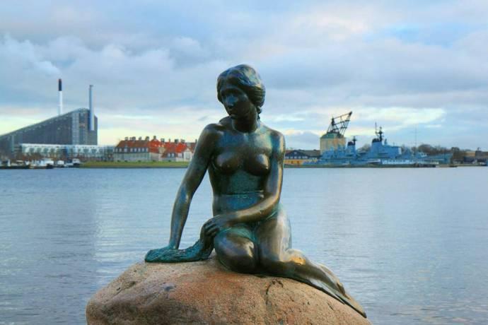 The Little Mermaid in Copenhagen hans christian andersen copenhagen fairytale