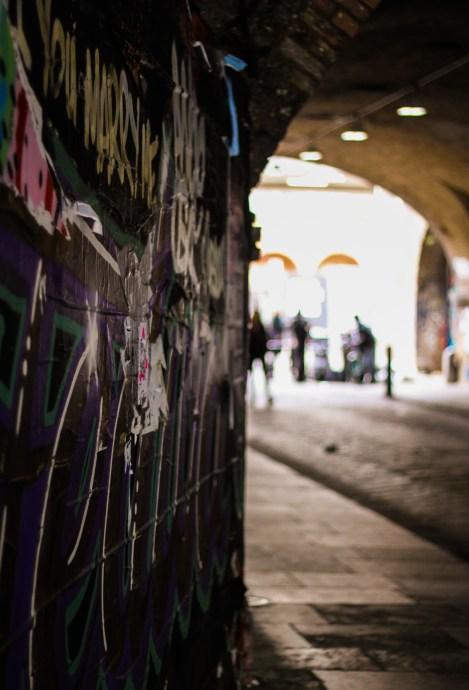 Shoreditch Street  Art - Arch - The Traveloguer Travel Blog