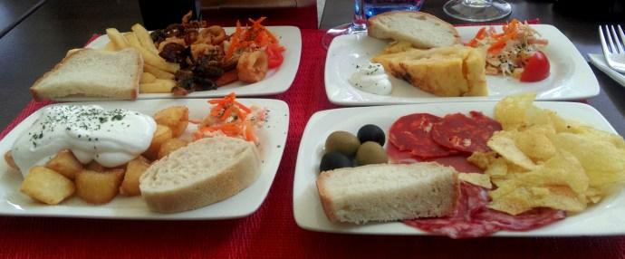 Nerja tapas - the traveloguer travel blog