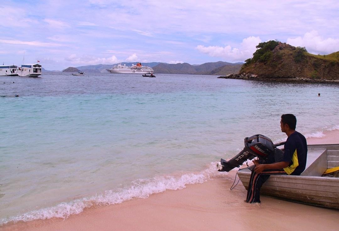 Pink Beach of Pantai Merah The Traveloguer Travel Blog