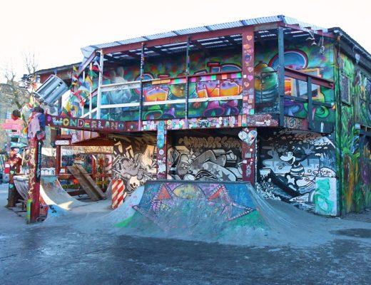 Christiania skate park