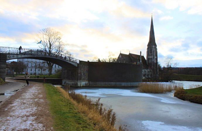 Copenhagen bridge church -hans christian andersen copenhagen fairytale