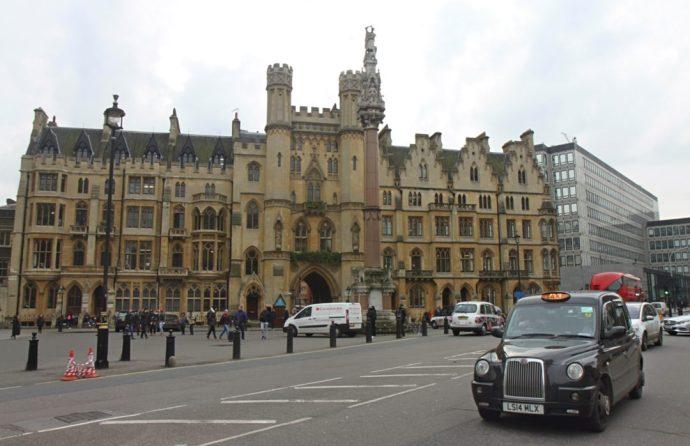 London theatre black cab