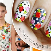 Mani of the Day: Oscar De La Renta Spring 2014