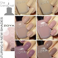 NAIL POLISH SWATCHES & REVIEWS: Zoya Naturel Collection