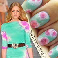 VIDEO TUTORIAL: PASTEL TIE DYE NAILS