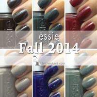 SWATCHES & REVIEWS: Introducing the essie fall 2014 collection!