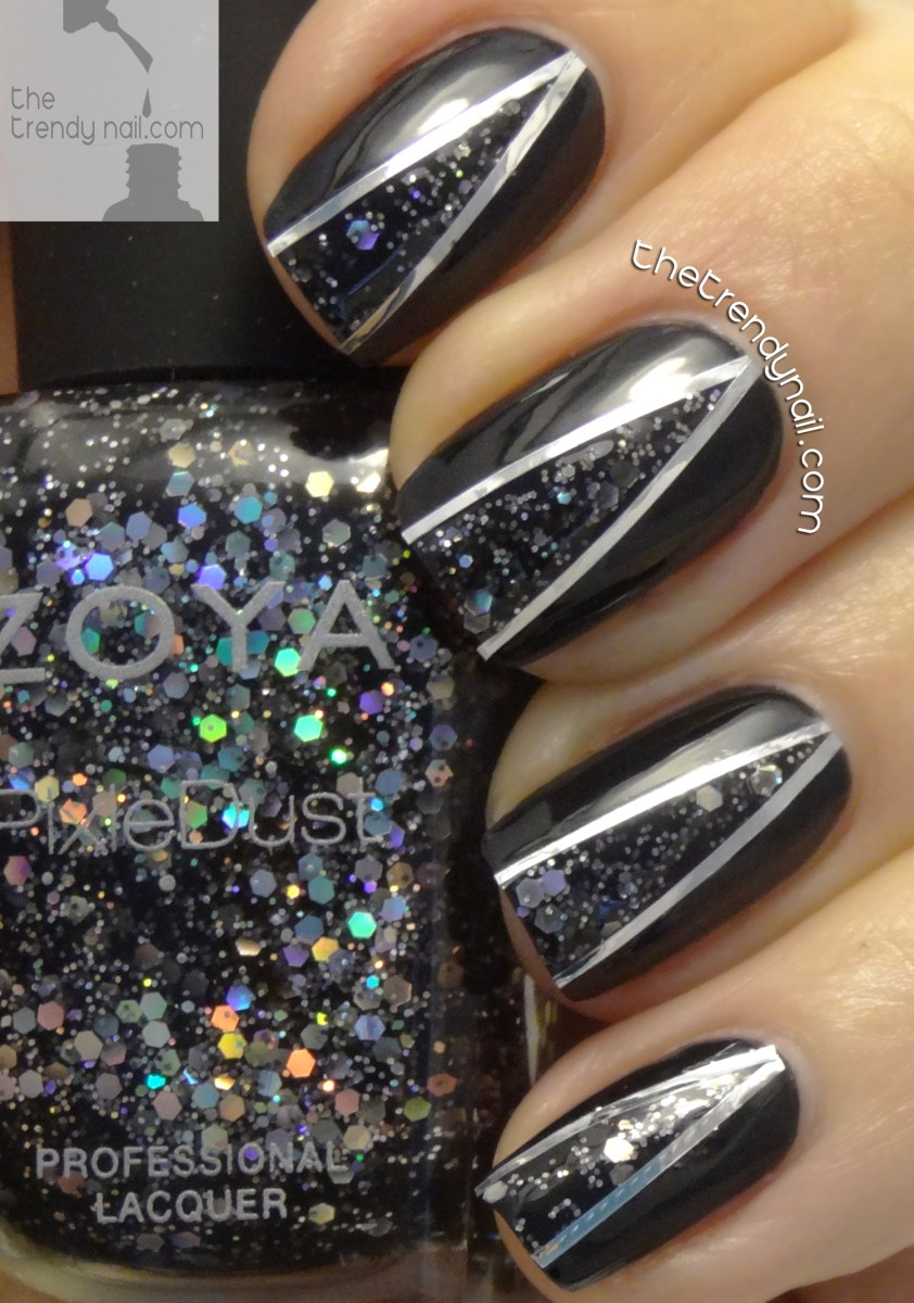 SPECIAL EDITION HOLIDAY TUTORIAL NAIL ART USING ZOYA WISHES
