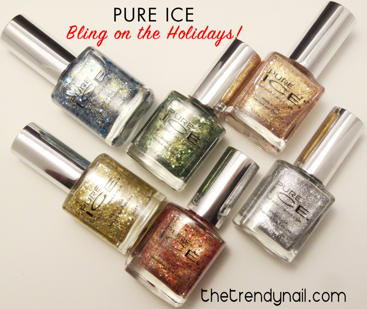 Holiday Glitters: Pure Ice Bling on the Holidays Collection