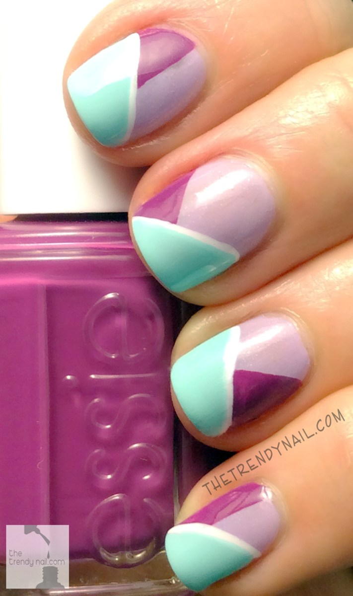 MANI MONDAY: COLOR BLOCKING NAIL ART
