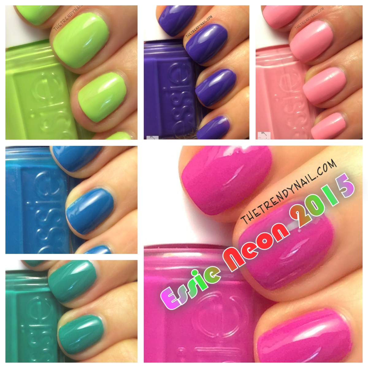 Essie Neon 2015 Swatches & Review