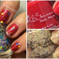 KBShimmer Holiday Edition: 2015 Swatches & Reviews