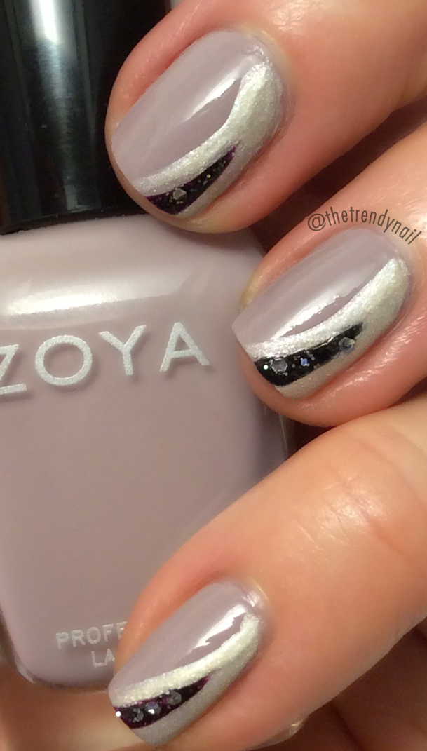 DIY Nail Art: Layering Laquers with Zoya