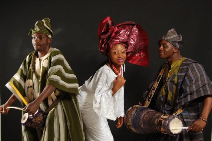 Nigerian Dancers The Trent