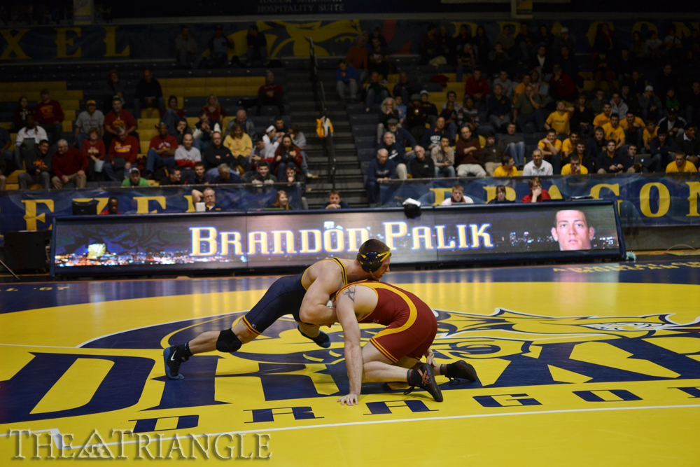 After dropping four consecutive matches, the Drexel wrestling team is back on track with strong performances in a win against Sacred Heart and at the Messiah Open in Lancaster, Pa., Jan. 26. The team is now focused on its next match, which will take place at the Daskalakis Athletic Center Feb. 1 against the Boston University Terriers.