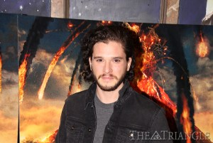 "Ajon Brodie The Triangle Kit Harington (pictured) stars as the gladiator Milo in ""Pompeii."" Harington was made famous from the HBO series ""Game of Thrones."" The movie was screened at The Franklin Institute Jan. 27"