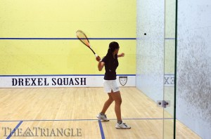 The Drexel women's squash team was shut out 9-0 in their most recent match against the University of Pennsylvania at the Ringe Courts Jan. 22.