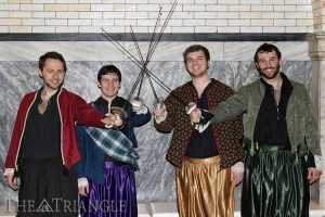 Drexel's Chamber Singers will host the 24th annual Madrigal Dinner, a themed event based on an English renaissance fair, Friday, Feb. 21 and Saturday, Feb. 22. Photo courtesy of Brianna Cameau.