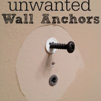 Quick Tip: How to Get Rid of Unwanted Wall Anchors