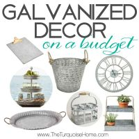 Style Trend: Galvanized Decor on a Budget