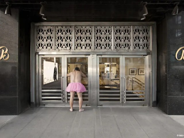 Bloomingdale's #3 - The Tutu Project for Breast Cancer Awareness