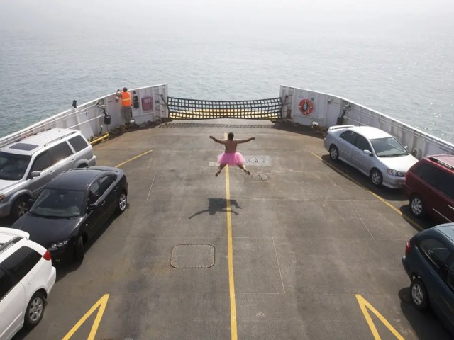 Ferry - The Tutu Project for Breast Cancer Awareness