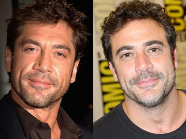 Separated at Birth  Jeffrey Dean Morgan and Javier Bardem     the TV     Following