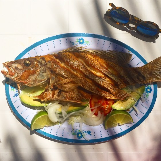 tulum full fried fish