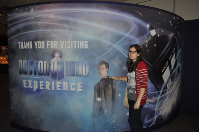 heather at doctor who experience
