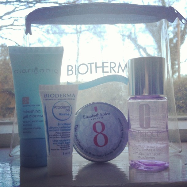 Travel Minis: Clarisonic, Elizabeth Arden, Clinique, Bioderma Review