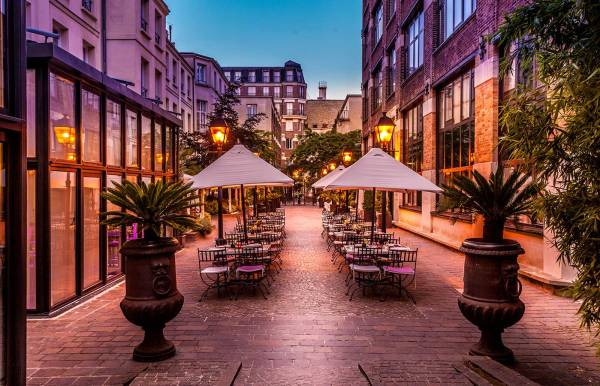 Where to stay The Marais Paris: Les Jardin du Marais Hotel