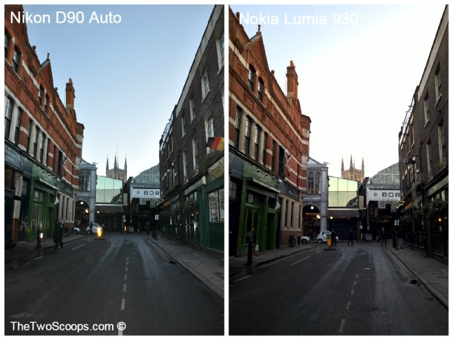 London Borough Market DSLR and Lumia Comparison