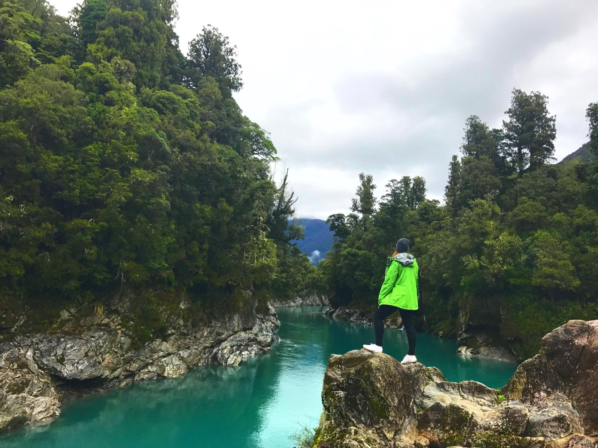 New Zealand Road Trip Tips - Hokitika Gorge New Zealand c Sarah Gibbons