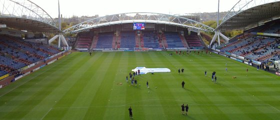 The Galpharm Stadium