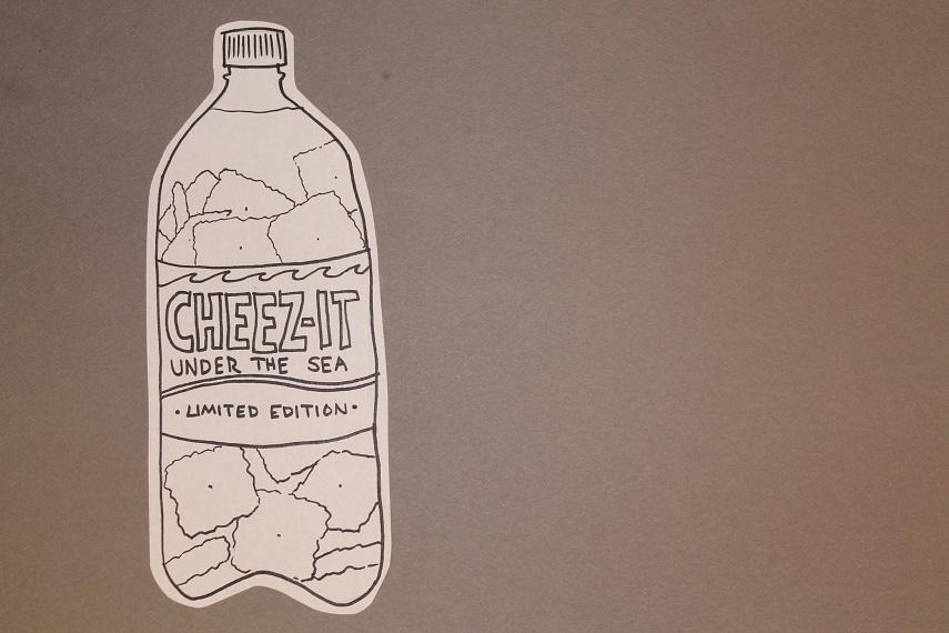 Tagline:  Like Regular Cheez Its, only Gross
