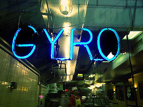 low carb Paleo gyro burger recipe