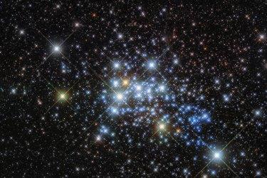 Hubble Telescope Image Westerlund