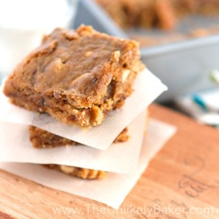 Peanut Butter Fig Bars