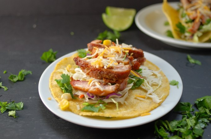 Smoked Chicken Taco