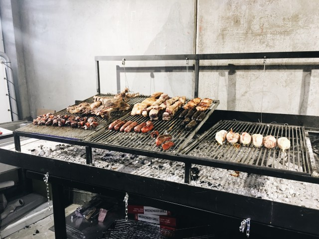Grilled meat South American bbq