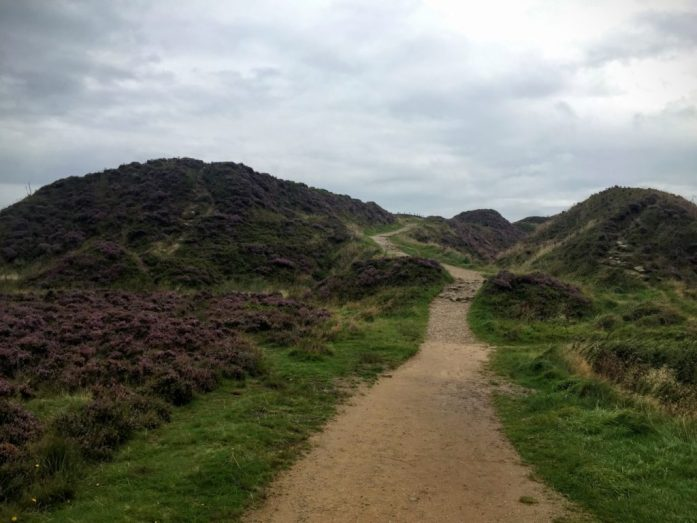 Teggs Nose, Macclesfield, Cheshire | Sarah Irving | The Urban Wanderer | Curved path up the hill