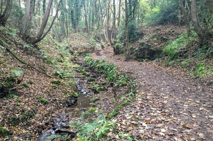 A Parbold Circular through the Fairy Glen (and getting lost!)