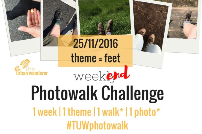 The Urban Wanderer Weekend Photowalk Challenge | #4 Feet