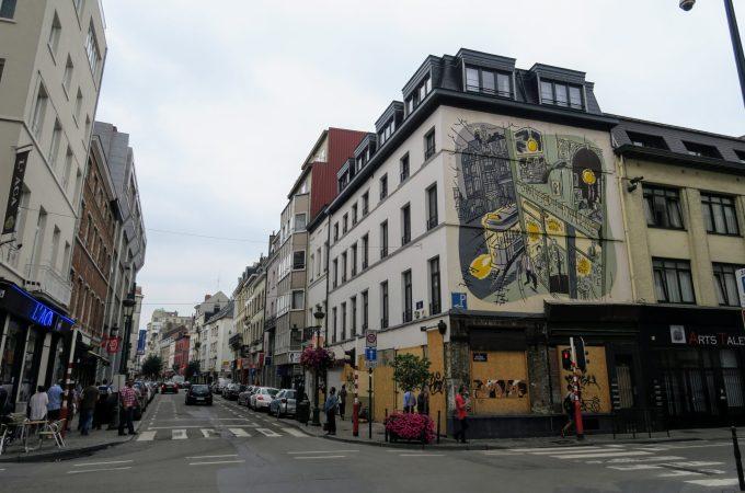 Comic Strip Walls | Brussels Comic Strip Center | Brussels Comic Strip Museum | Brussels | Belgium | Visit Brussels | The Urban Wanderer | Sarah Irving | Europe | Outdoor Blogger | Travel Blogger | Manchester Blogger