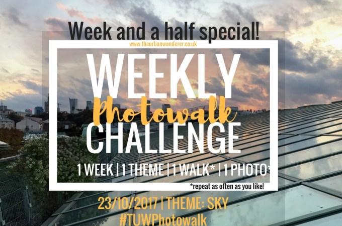 The Urban Wanderer Weekly Photowalk Challenge | #14 Sky