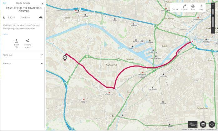 Castlefield To Trafford Centre