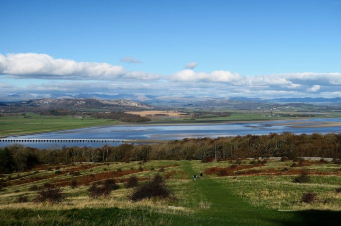 Autumn sunshine in Arnside and Morecambe Bay