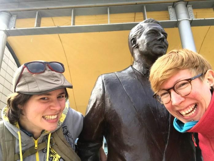 Allysse,Cary Grant和我...就像你一样!